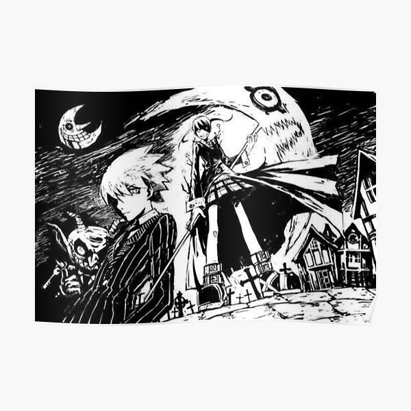 soul eater poster by the last dragon redbubble