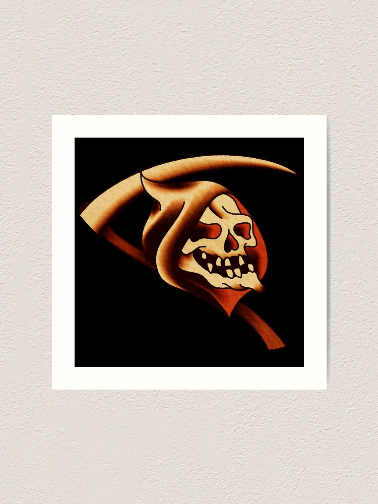 American Traditional Grim Reaper : american, traditional, reaper, American, Traditional, Reaper