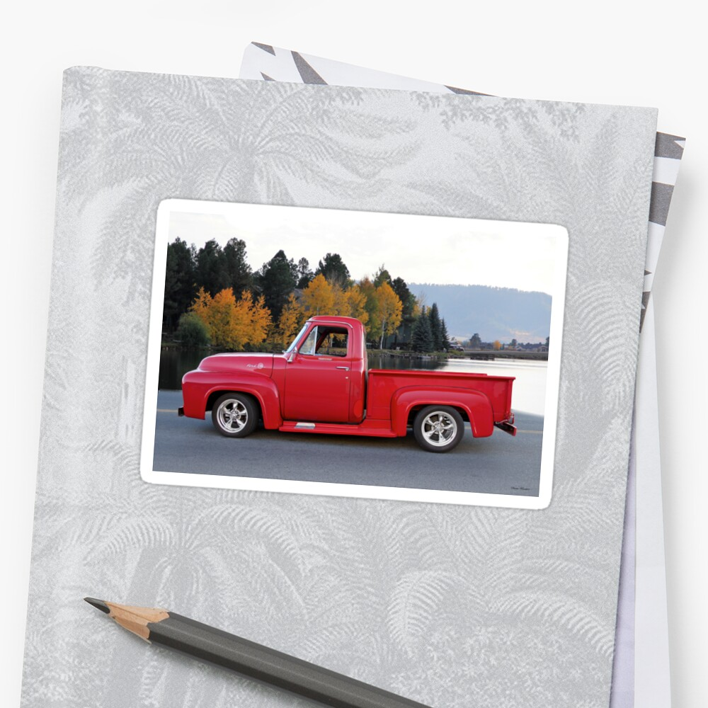 medium resolution of 1956 ford f100 pickup profile by davekoontz
