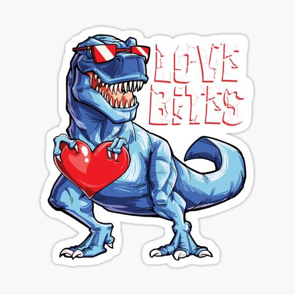 """Download """"Valentines Day Dinosaur shirt Love Bites T rex Gift Boys ..."""