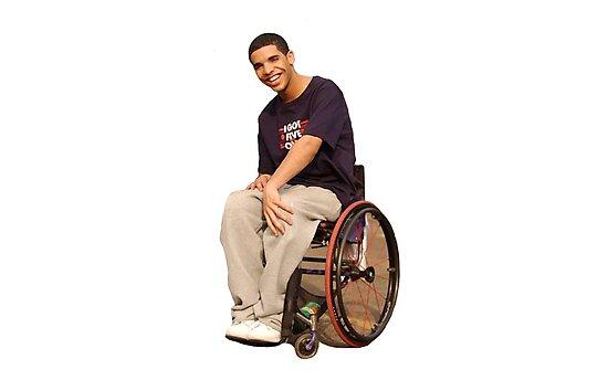 wheelchair drake chair cover elegance logan iowa degrassi photographic prints by aahhbianca redbubble