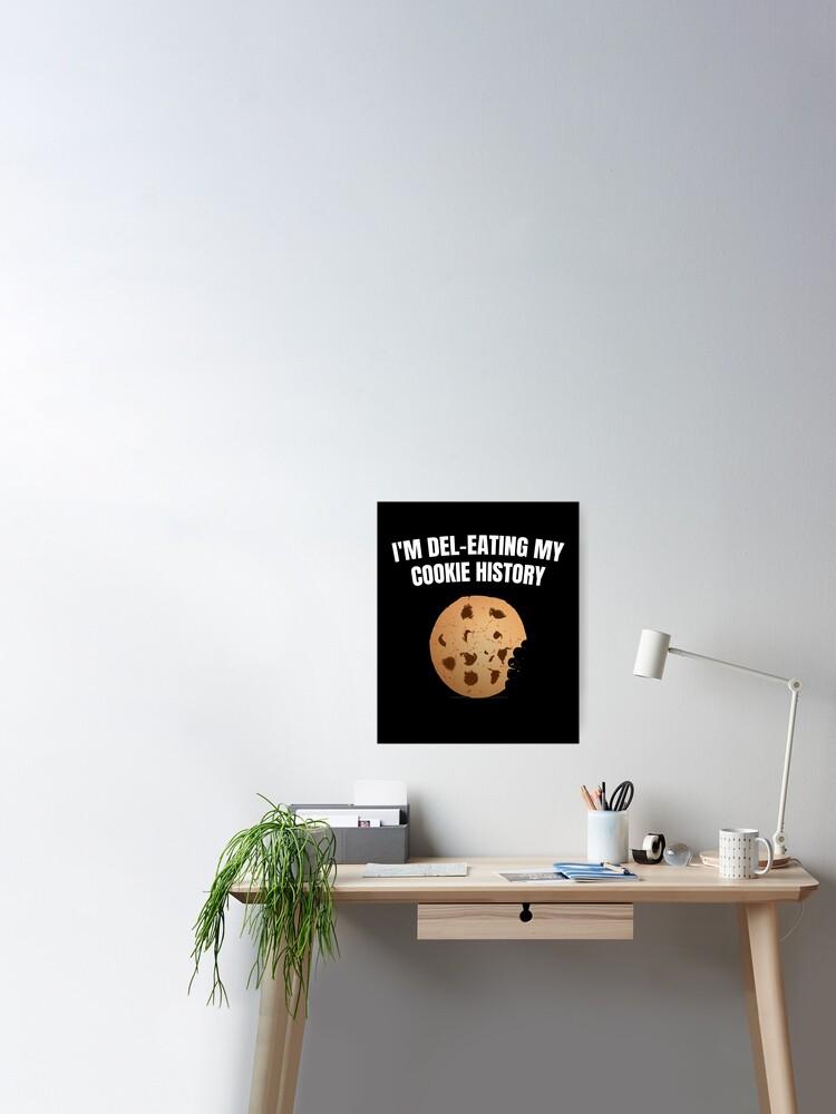 Je Suis En Train De Manger : train, manger, Poster, Train, Manger, Histoire, Cookie!, T-shirt, ESSTEE, Redbubble