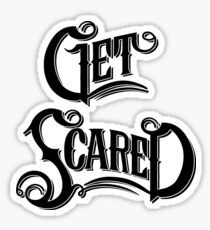 get scared band stickers