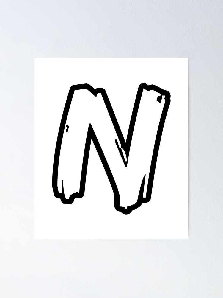 Letter N In Different Fonts : letter, different, fonts, Letter, Different, Fonts