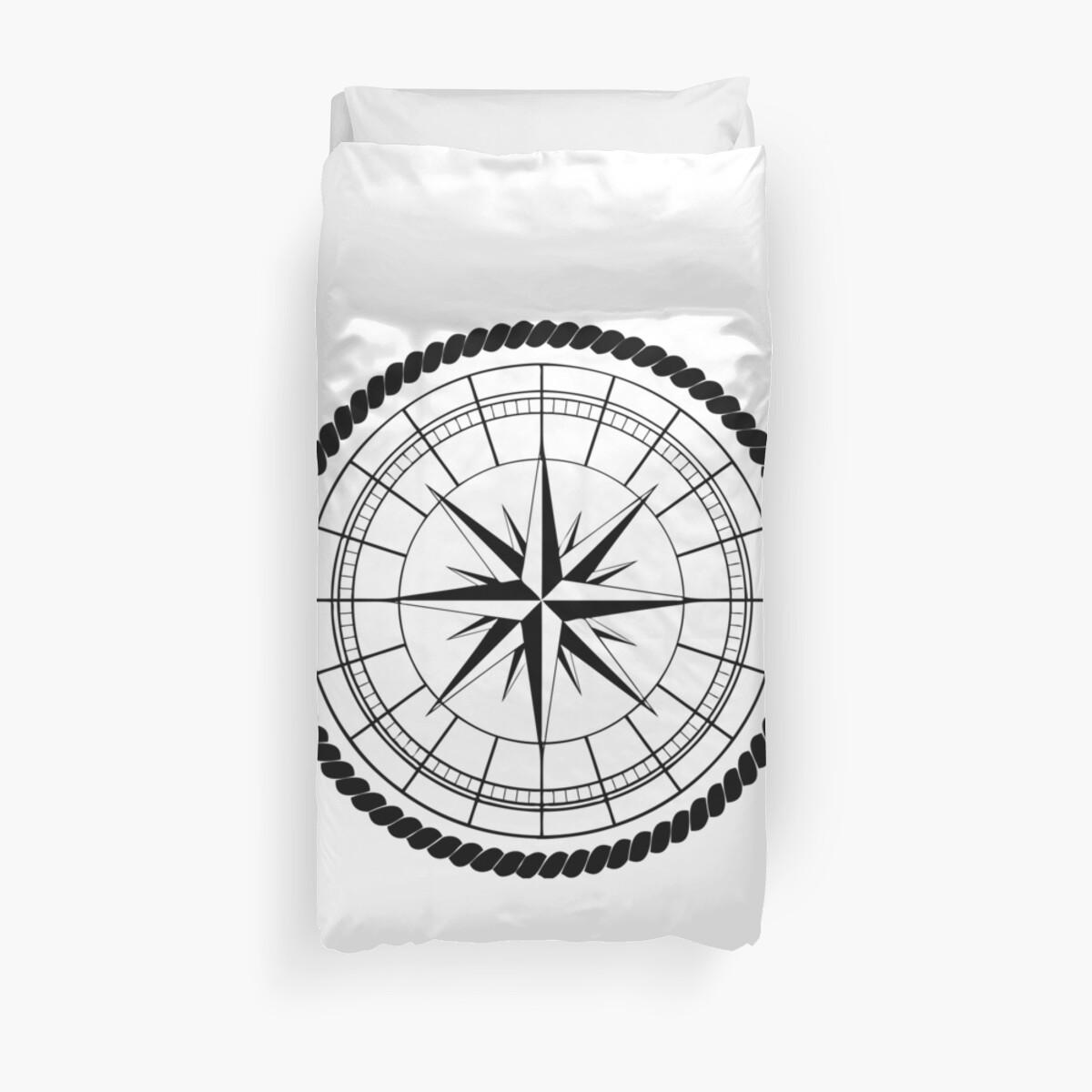Compass Rose Duvet Covers By Port Stevens