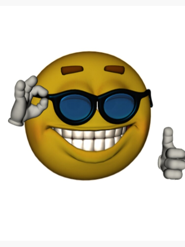 Thumbs Up Sunglasses Meme : thumbs, sunglasses, Smiley, Sunglasses, Thumbs, Emoji, Face
