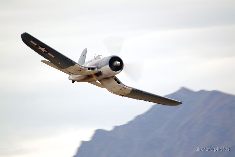 Chance Vought F4U CORSAIR  by aircraftphotos  Redbubble