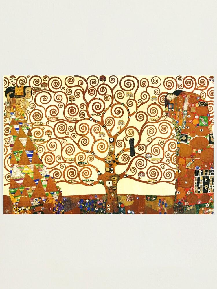 Arbre De Vie De Klimt : arbre, klimt, Impression, Photo, L'arbre, Gustav, Klimt, HAUTE, DÉFINITION, Mindthecherry, Redbubble