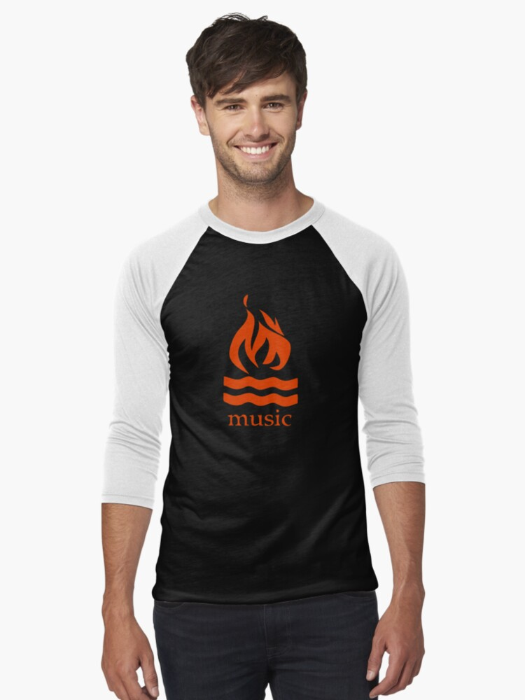 hot water music shirt printable pyramid diagram flame tri blend t by reyboot redbubble men s baseball