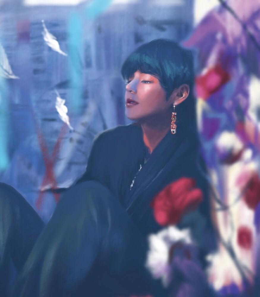 TaeHyung Singularity by Yellow Effect  Redbubble