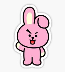 Bt21 Cooky Stickers Redbubble