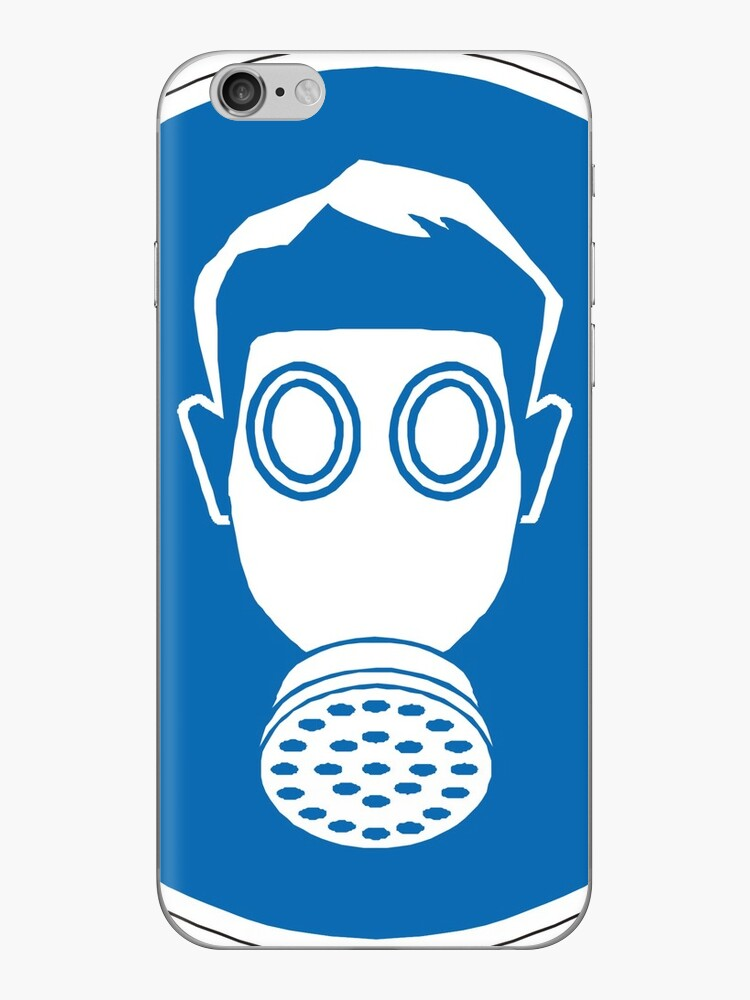 gas mask sign iphone