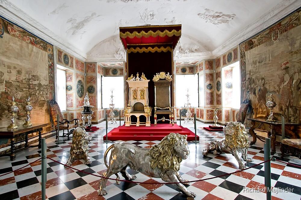 Royal throne room by Richard Majlinder  Redbubble