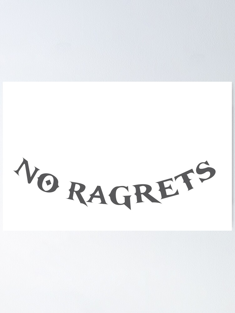 We're The Millers No Ragrets : we're, millers, ragrets, We're, Millers, Ragrets, Scotty, Poster, AbbyJC, Redbubble