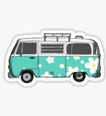 old vw bus stickers