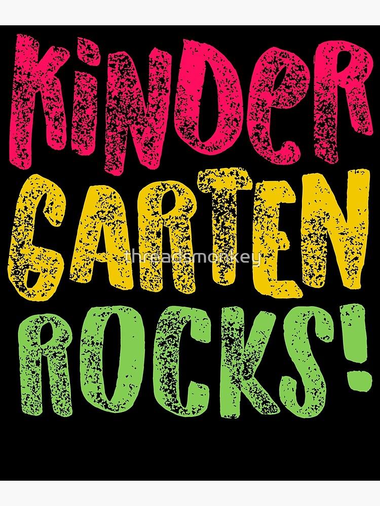 Pre K Rocks : rocks, Kindergarten, Rocks, Funny, Teacher, Appreciation, Gift