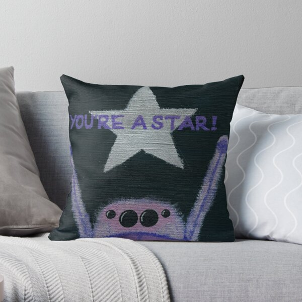 short temper long memory throw pillow by pookiiverse redbubble