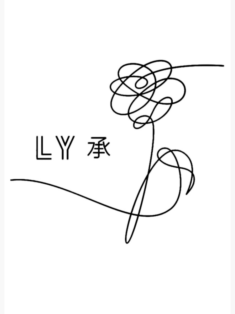 Love Yourself Her Flower : yourself, flower, Yourself, Flower, Black, (her)