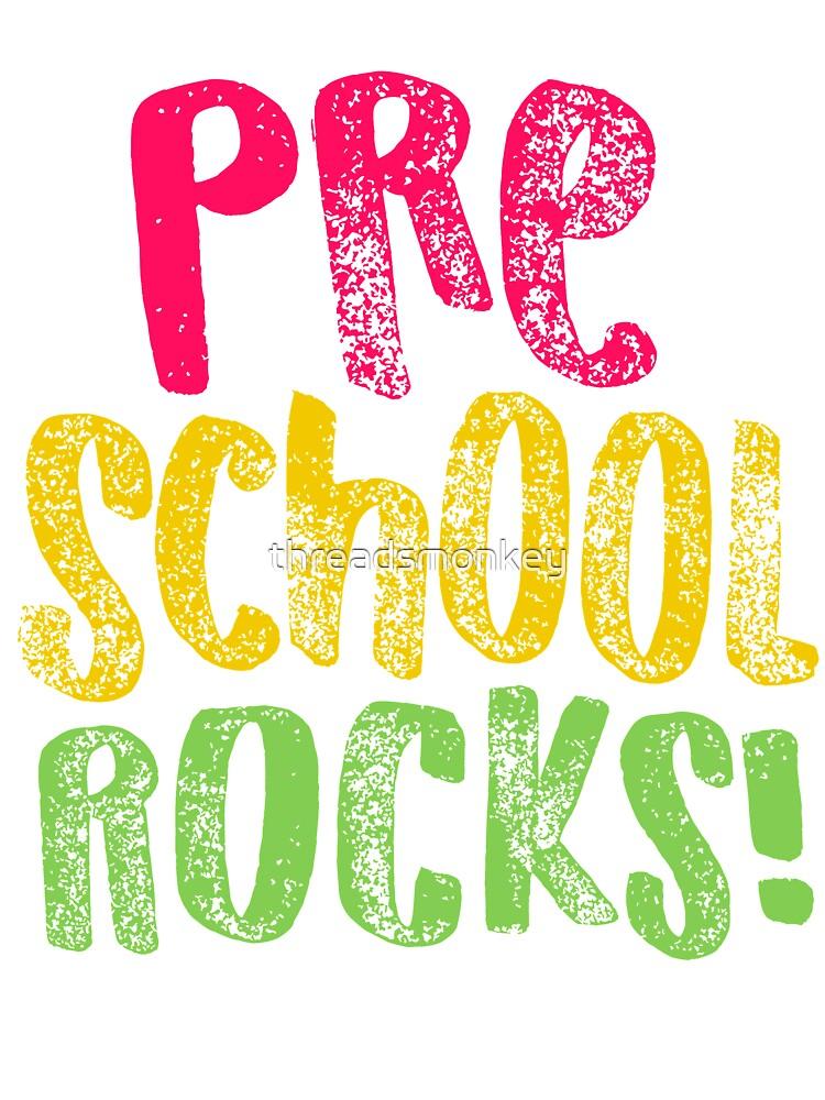 Pre K Rocks : rocks, Preschool, Design, Rocks, Teacher, Appreciation