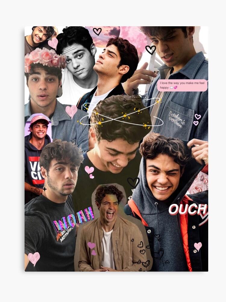 noah centineo collage canvas