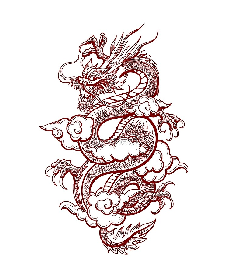 Traditional Dragon : traditional, dragon, Traditional, Chinese, Dragon