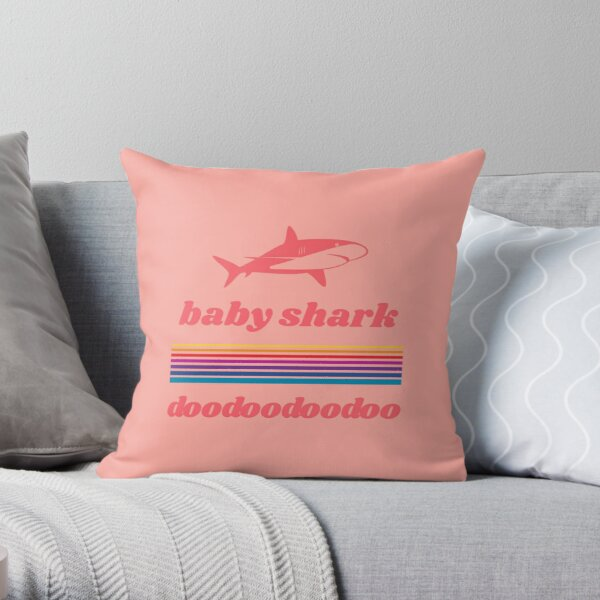 baby shark pillows cushions redbubble