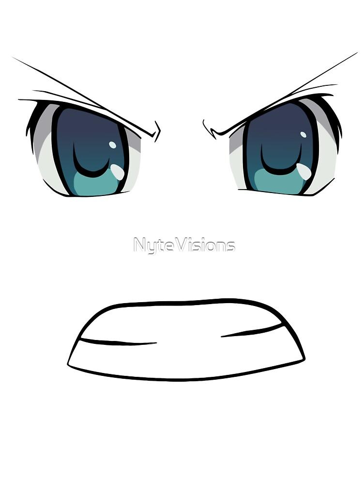 Angry Face Anime : angry, anime, Angry, Anime, Style