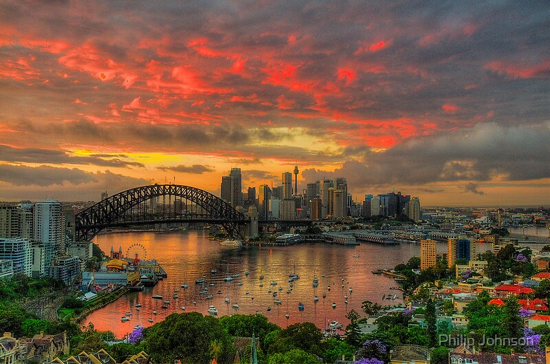 Oh What a Beautiful Morning  Moods Of A CitySydney Australia  The HDR Experience by Philip