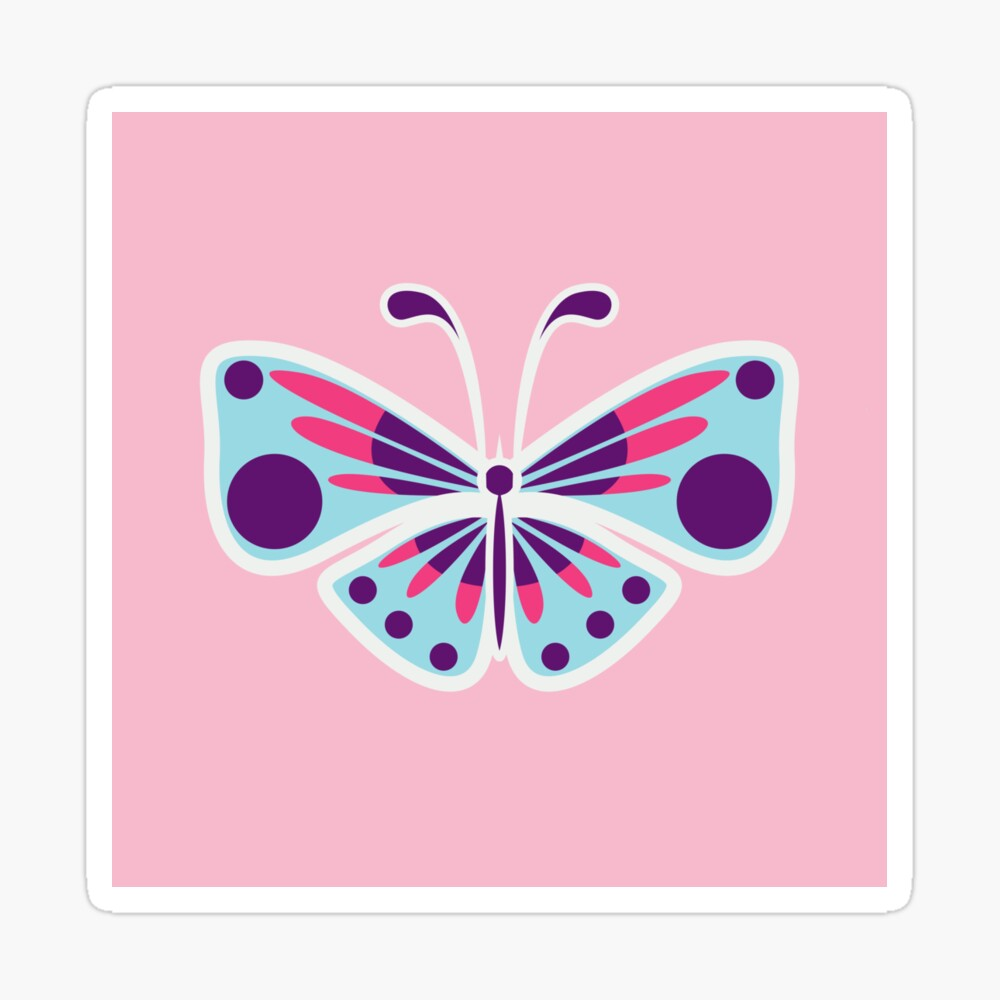 Pink Butterfly Art Print Girly Wall Art Bedroom Decor Nursery Girl Decor Butterfly Wall Art Butterfly Decor Butterfly Poster