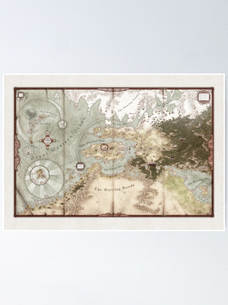 Exalted 3e Map : exalted, Exalted, Creation