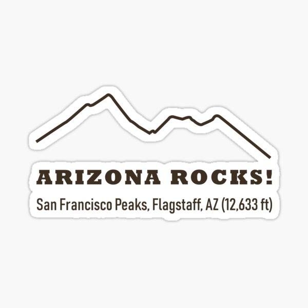 Get daily travel tips & deals! Pegatina Arizona Rocks Montana Camelback Phoenix Az 2 706 Pies De Euskadaz Redbubble