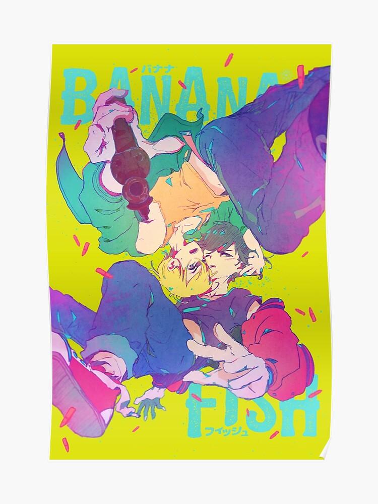 banana fish typo poster