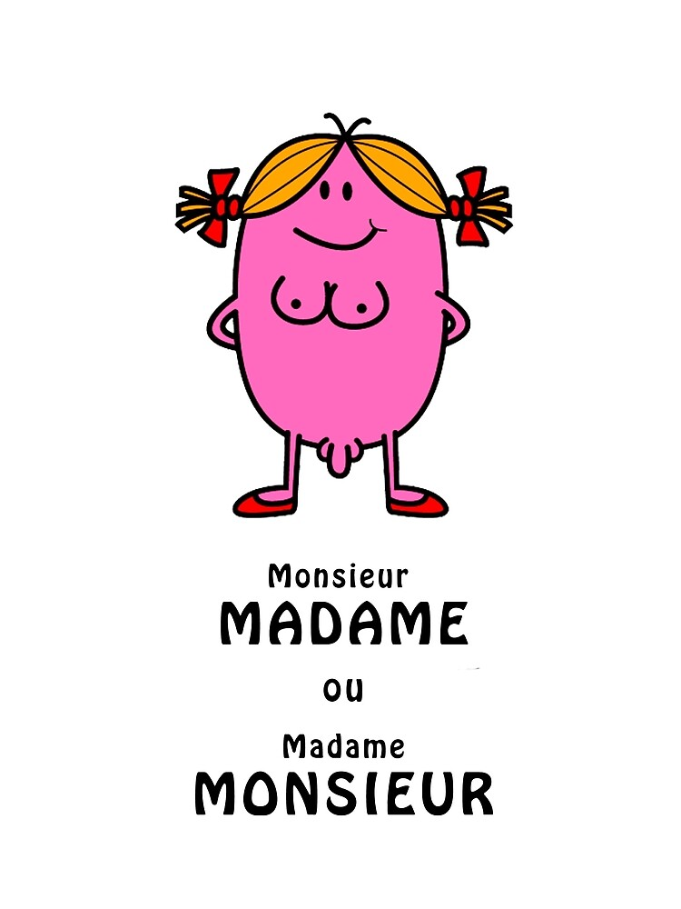 Monsieur Madame Ou Madame Monsieur : monsieur, madame, Carte, Vœux, Madame, Monsieur, Zebia, Redbubble