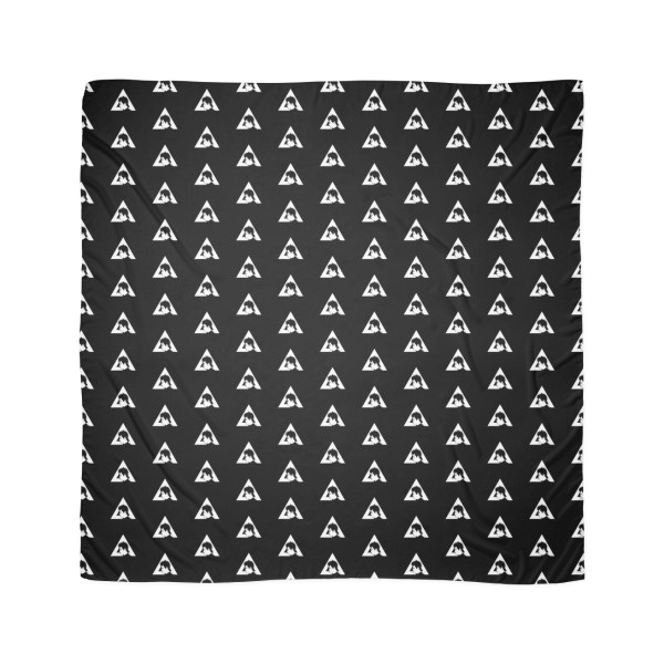 """bastille - Dan Smith Triangle Silhouette"" Scarves"