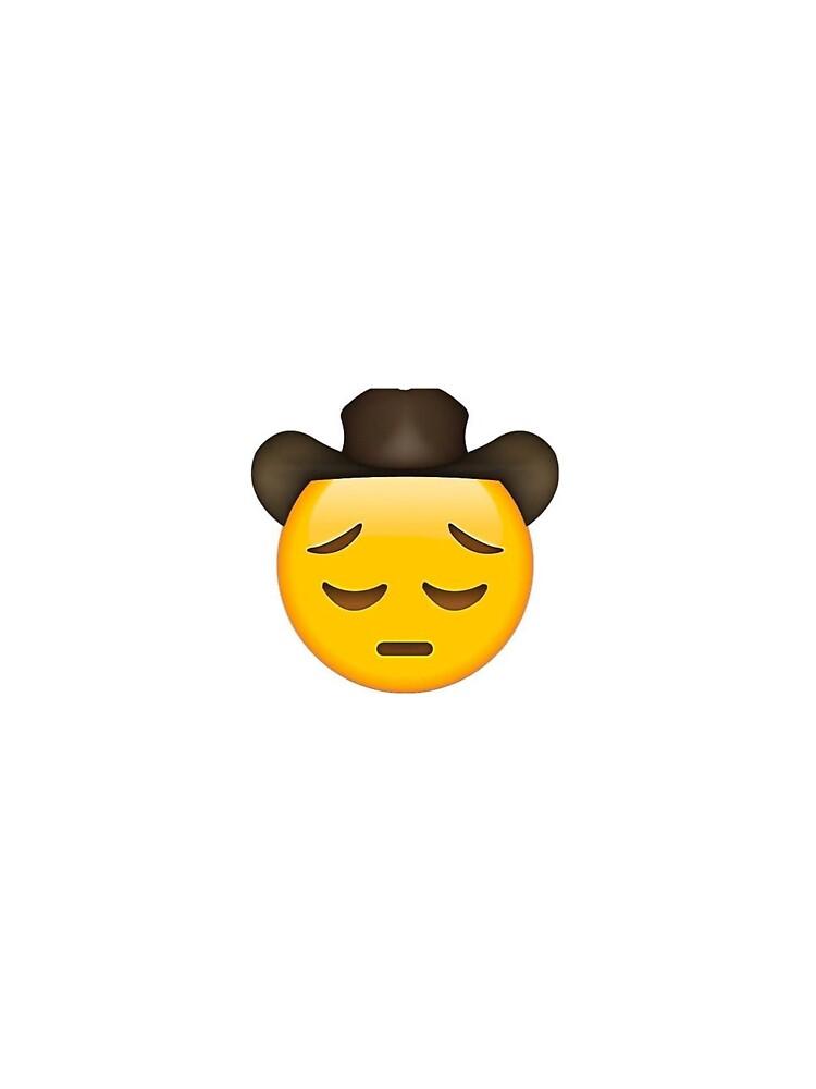 Pensive Cowboy Emoji : pensive, cowboy, emoji, Cowboy, Emoji