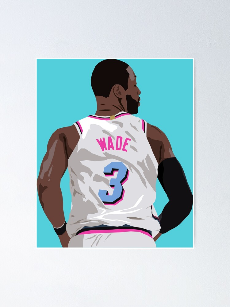 dwyane wade back to poster von rattraptees redbubble