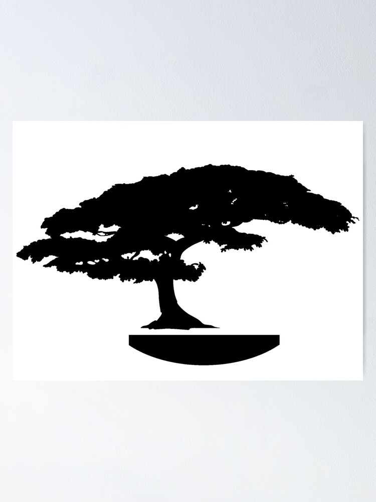 Bonsai Silhouette Stock Photos, Images, & Pictures