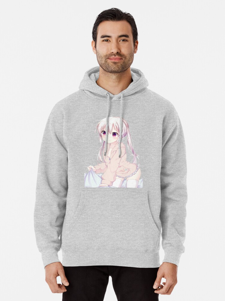 Anime Cute Hoodie : anime, hoodie, Anime, Girl
