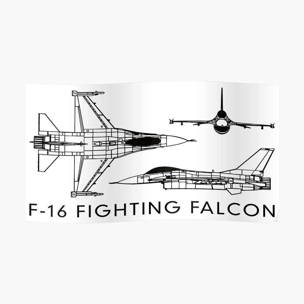 F 16 Schematic