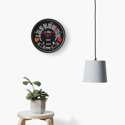 small resolution of  jeep cj tachometer speedometer gauge clock by tkgarage redbubble