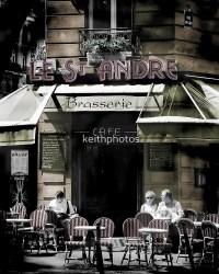 """Paris Cafe - coffee culture in Paris street scene"" by ..."