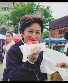 "Araki Eating Donut"" iPad Case & Skin by fulltime   Redbubble"