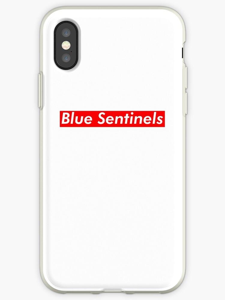blue sentinels supreme iphone