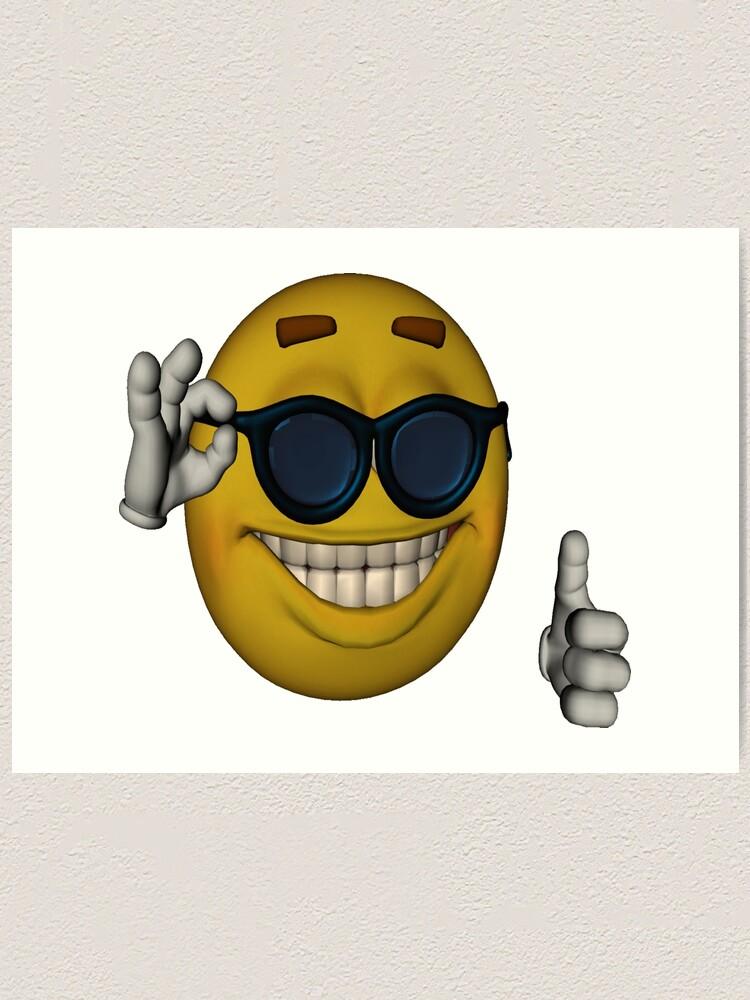 Thumbs Up Sunglasses Meme : thumbs, sunglasses, Picardía/Sunglasses, Thumbs, Emoticon, Meme