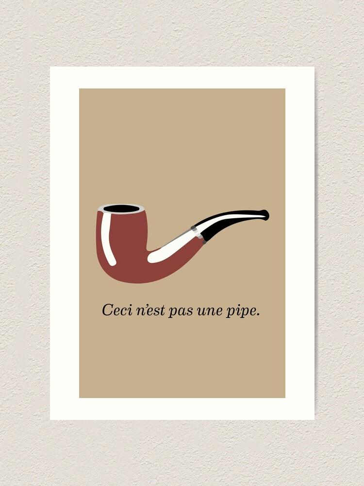 """Ceci N'est Pas Une Pipe : n'est, N'est, [""""The, Treachery, Images, (This, Pipe)"""", Homage, René, Magritte]"""