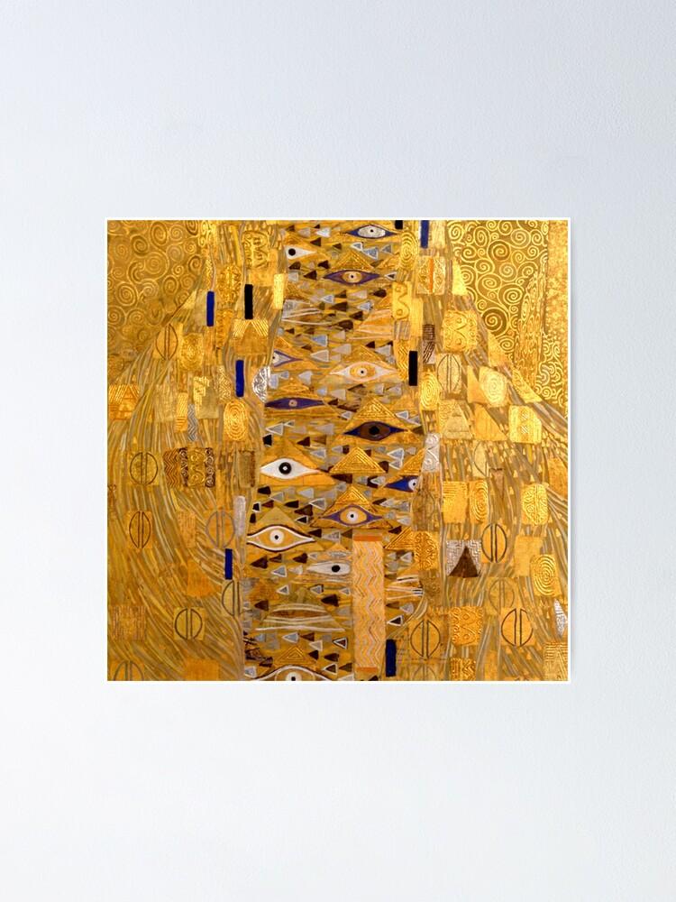 adele bloch bauer i detail von gustav klimt poster von bebichic redbubble