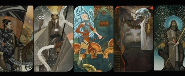 quotDragon Age Inquisition Companion Tarot Cardsquot Mugs by