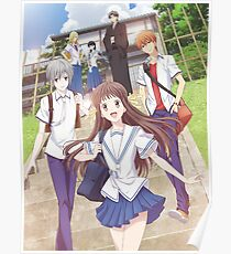 fruits basket posters redbubble