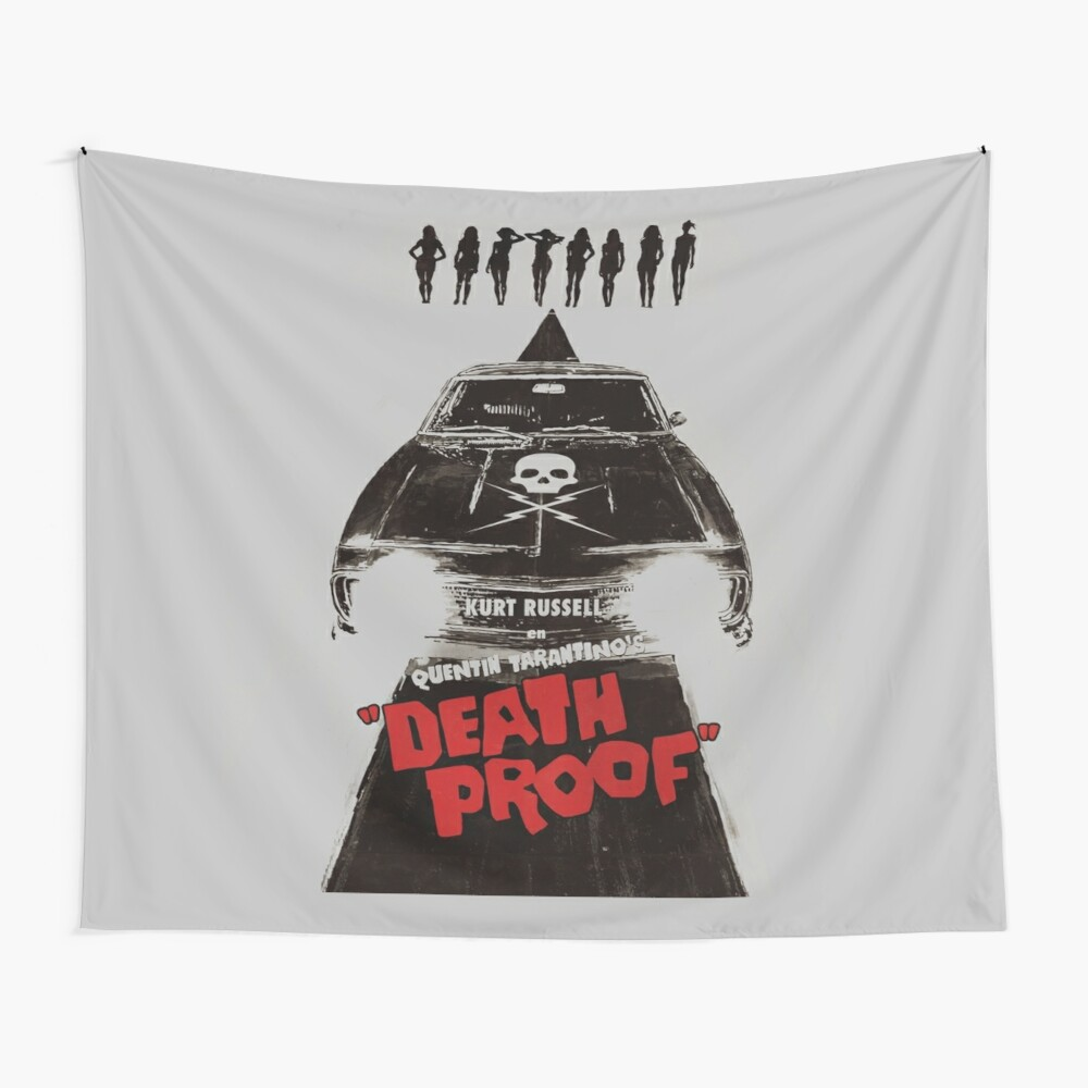 death proof movie poster written and directed by quentin tarantino spanish version artwork posters prints tshirts mugs bags women men mounted print by clothorama redbubble