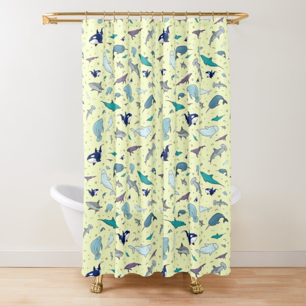 under the sea shower curtain by nemki redbubble